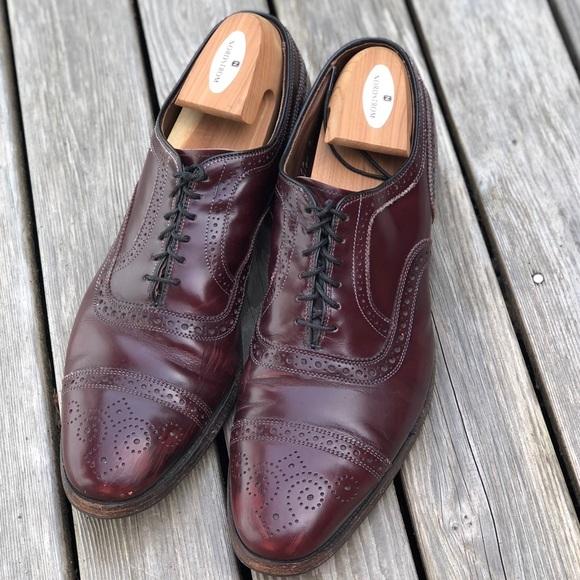 ab13d1dcd460 Allen Edmonds Other - Strand Cap Toe Oxford Oxblood Color Dress Shoes 12